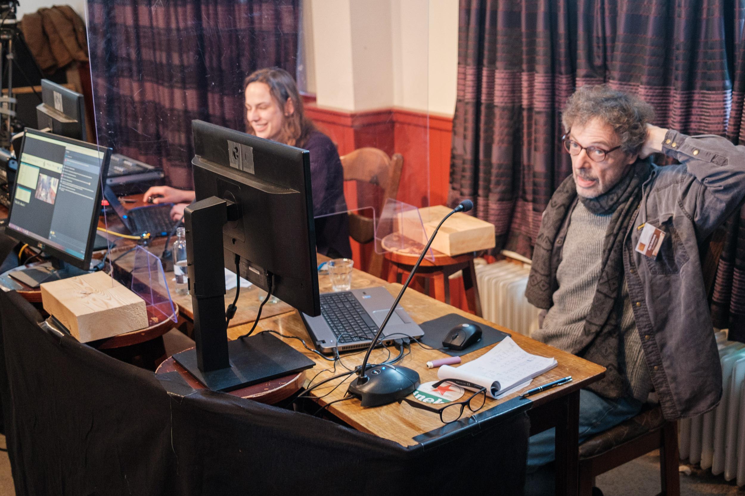 Ester van Muijen en Paul Oudshoorn